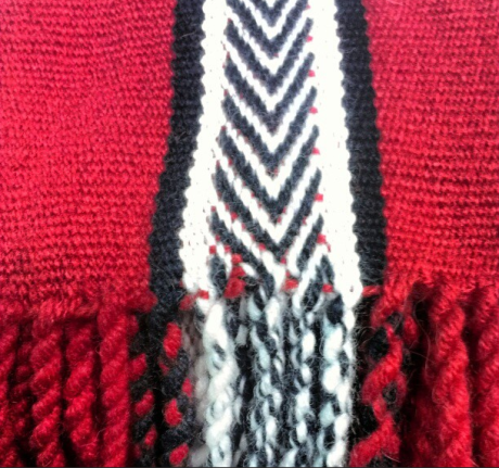 Our Infinite Reach sashs. They're handwoven.
